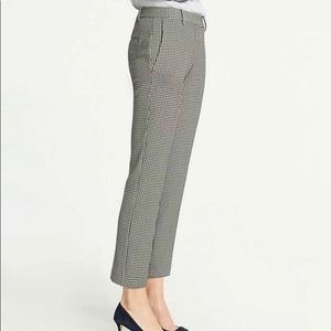 Black & White Ann Taylor Ankle Pant